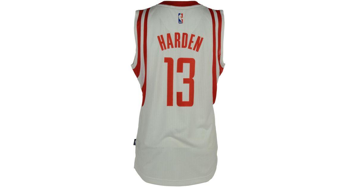 new products 0a594 1ba4b Adidas Originals - Red Men's James Harden Houston Rockets New Swingman  Jersey for Men - Lyst
