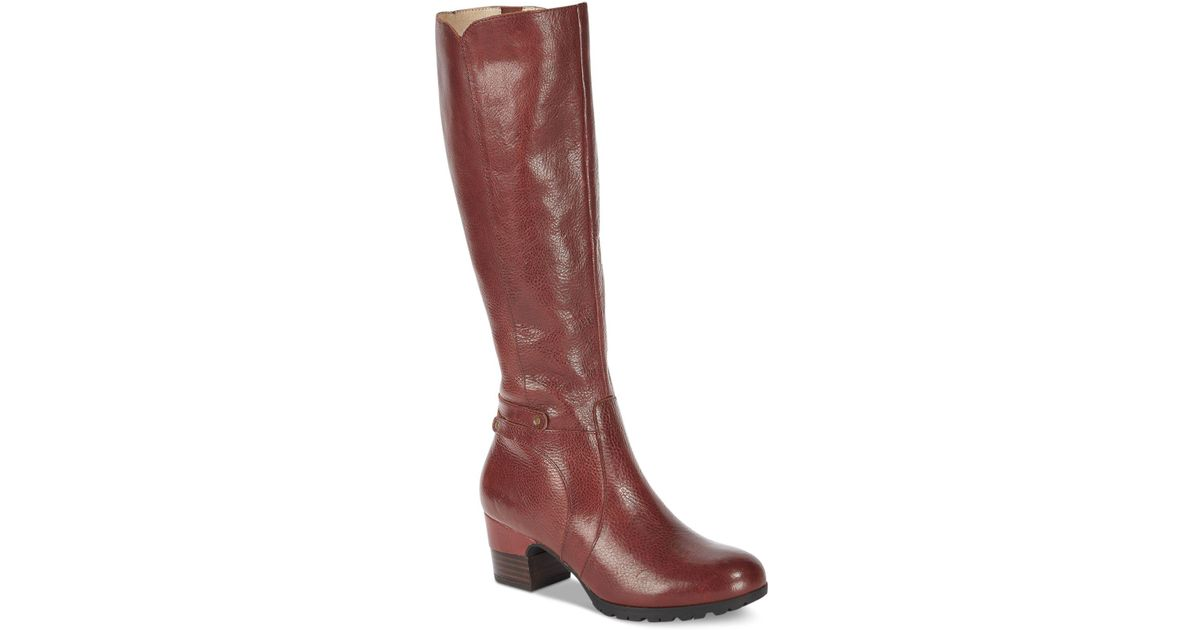 2e62940601dc Lyst - Jambu Chai Water-resistant Tall Boots in Red