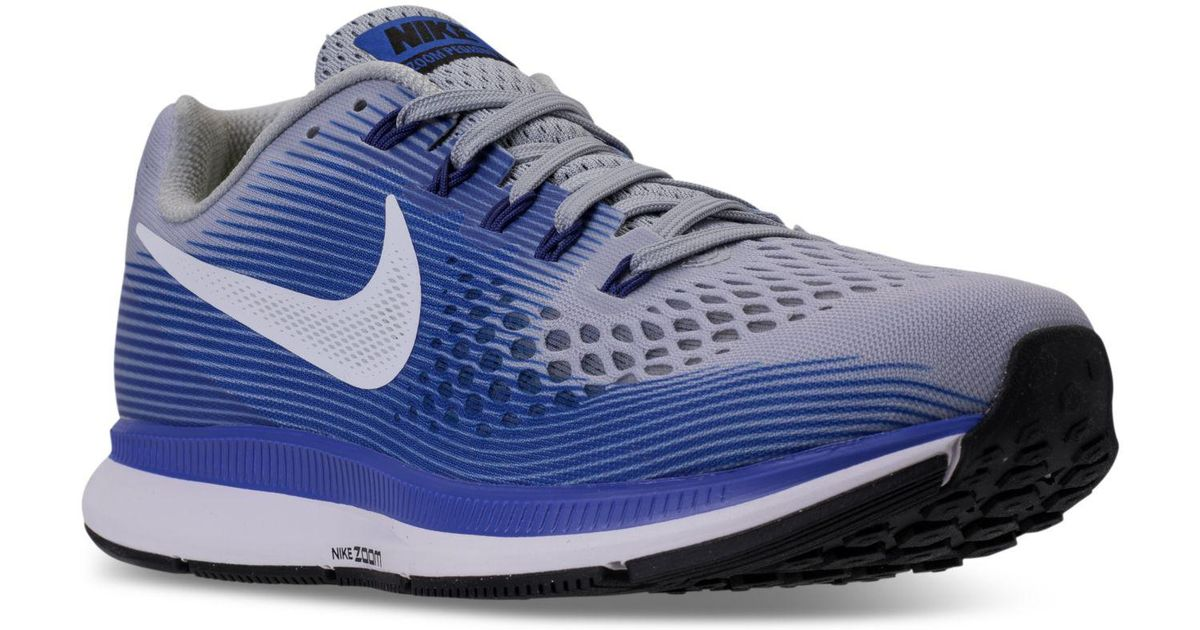 aaf2bddc4d8 Lyst - Nike Men s Air Zoom Pegasus 34 Wide Width (4e) Running Sneakers From Finish  Line for Men
