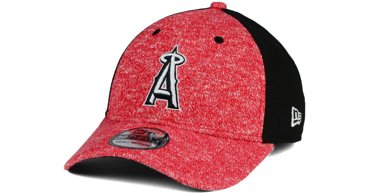 low priced 862d1 94cd5 ... low price lyst ktz los angeles angels of anahiem team color tech fuse 39thirty  cap in