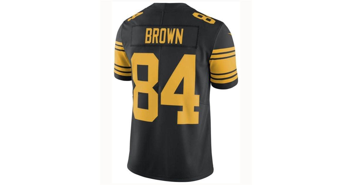 sweden steelers color rush jersey antonio brown 442f8 44a59 3eaf69164