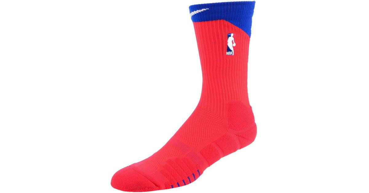 610cdc23a01 Lyst - Nike Nba All Star Elite Quick Alt Crew Socks in Red for Men