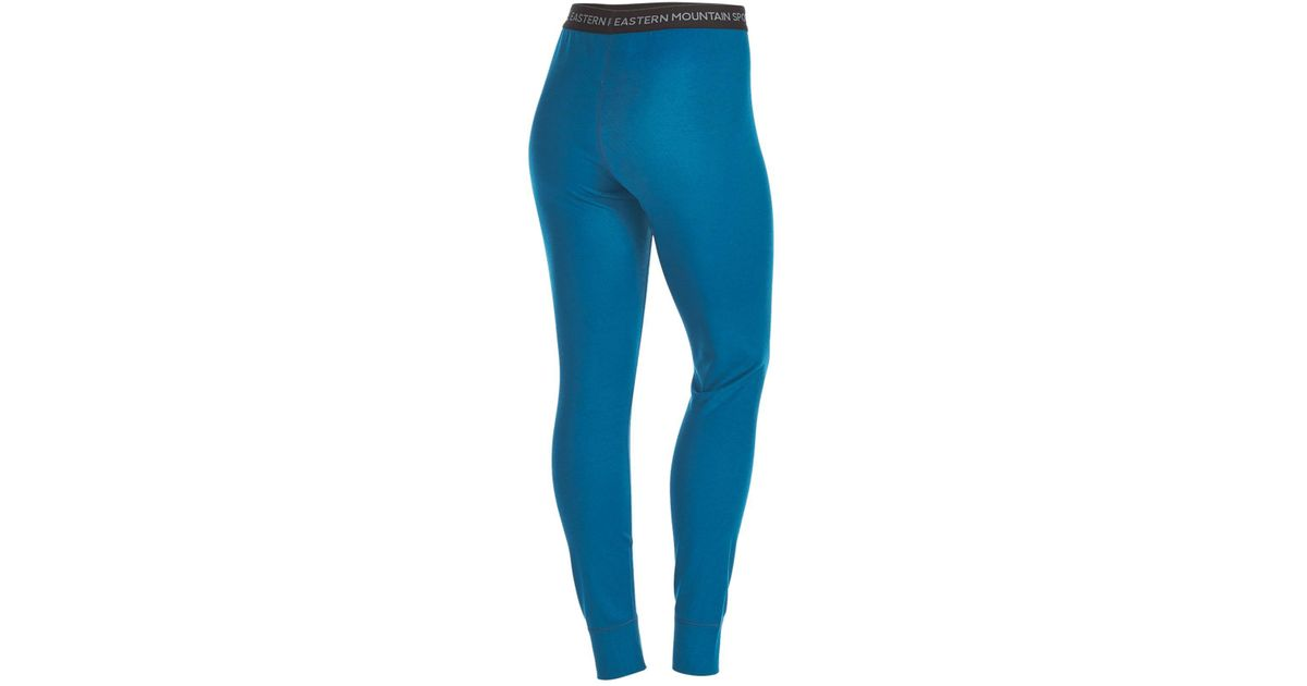 4cf9a94d0993d8 Lyst - Eastern Mountain Sports Ems® Women's Techwick® Midweight Base Layer  Tights in Blue