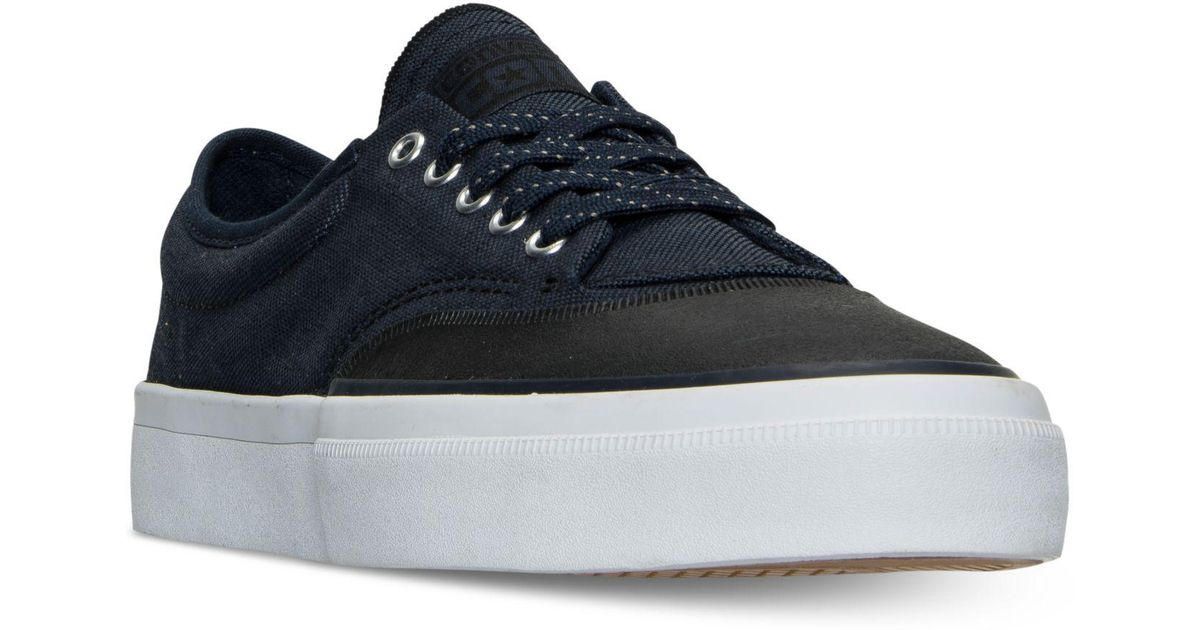 87e84e168b5b Lyst - Converse Men s Chuck Taylor All Star Crimson Casual Sneakers From  Finish Line in Blue for Men