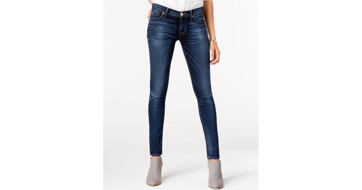 9418bf1dd9f Hudson Jeans Elysian Super Skinny Jeans, Revelation Wash in Blue - Lyst