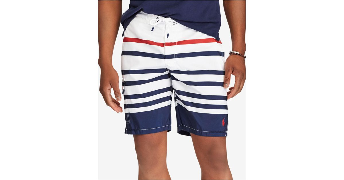 d651aad08c ... new zealand lyst polo ralph lauren 8 1 2 kailua swim trunks in blue for  men