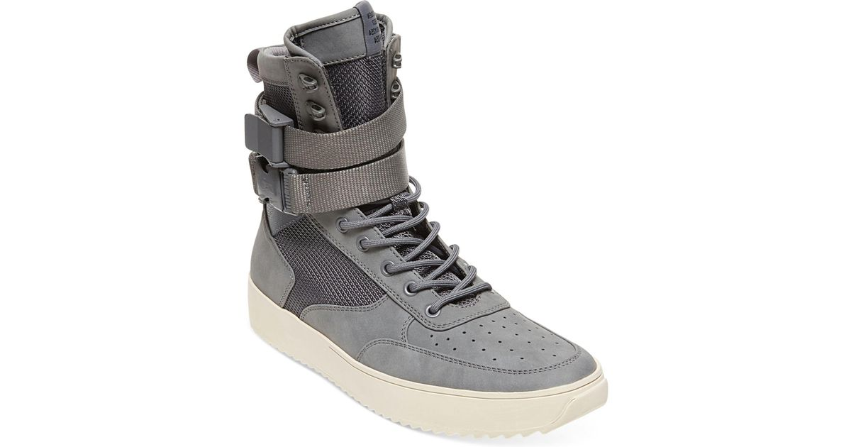 e0adcf9db8a Lyst - Steve Madden Men s Zeroday High-top Sneakers in Gray for Men
