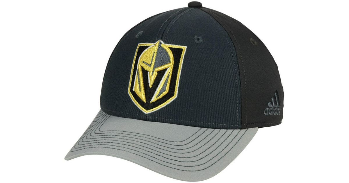 45adee24 ... purchase lyst adidas vegas golden knights 2tone stitch flex cap in gray  for men 3a4d8 3ee05
