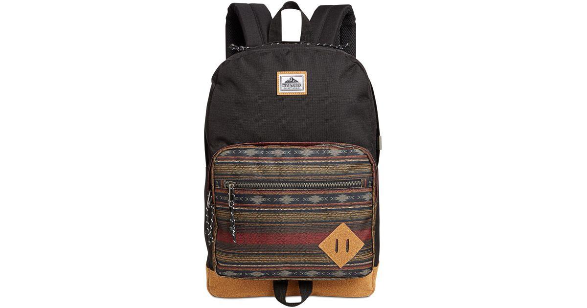 c376fe8a8826 Lyst - Steve Madden Men s Badland Dome Classic Backpack in Black for Men