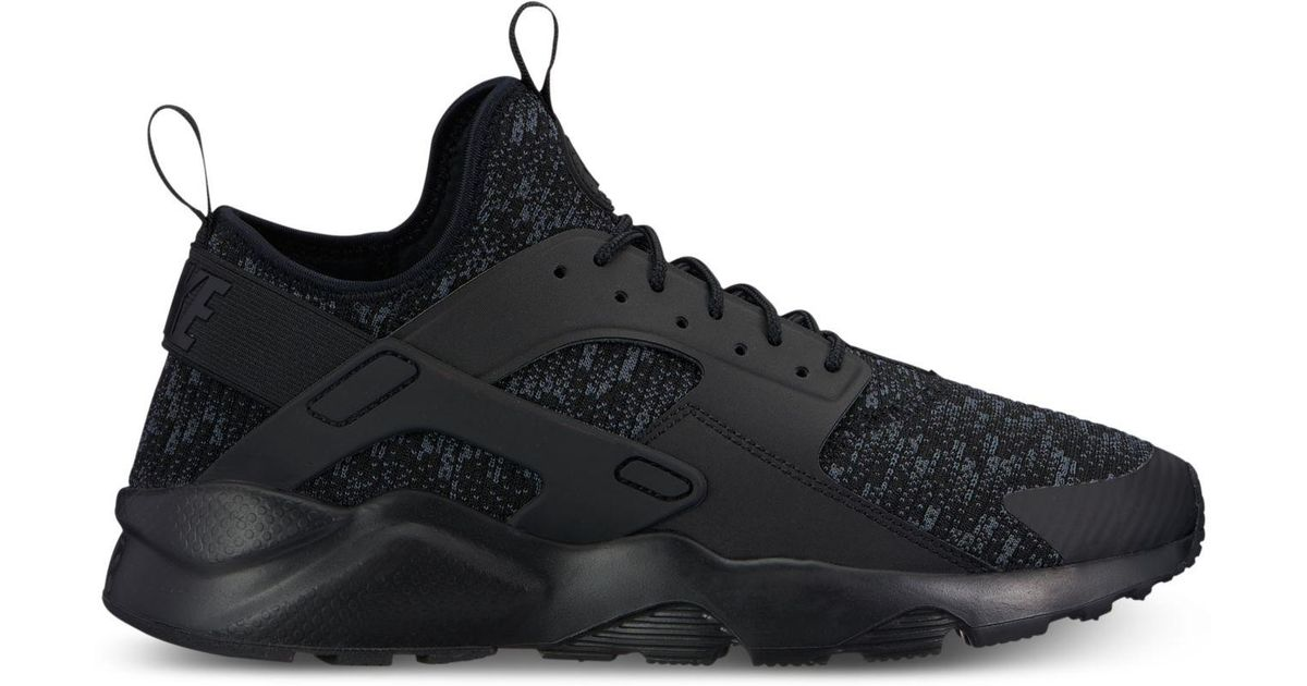 86afac452f8 Lyst - Nike Men s Air Huarache Run Ultra Se Casual Sneakers From Finish  Line in Black for Men