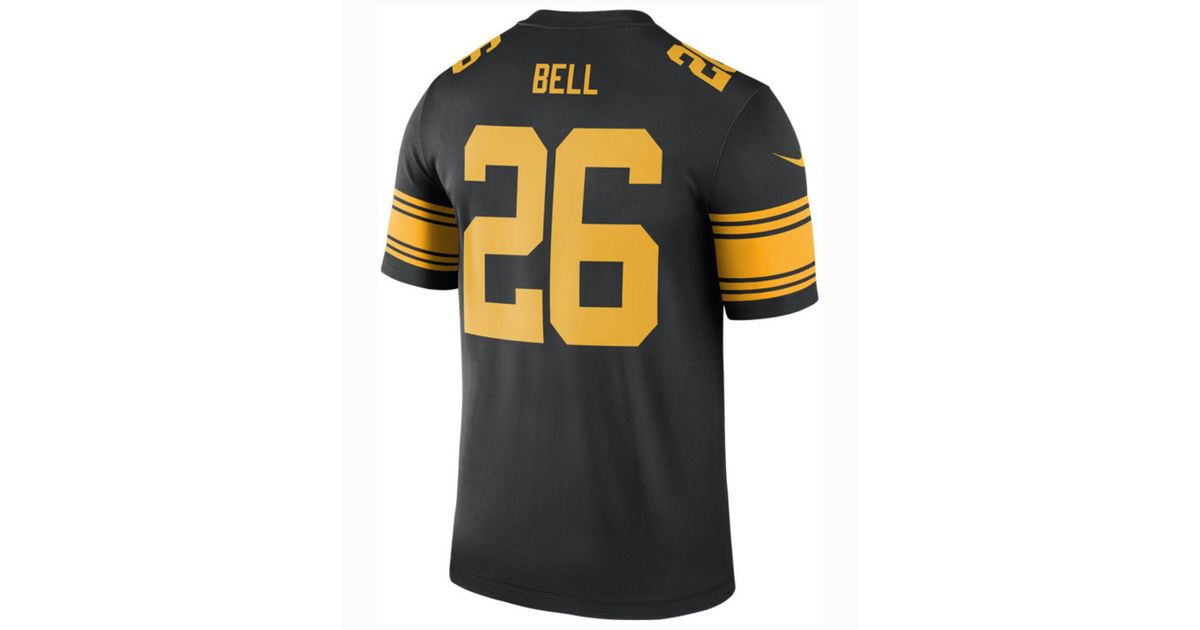 0dba68cbfd7 Lyst - Nike Le veon Bell Pittsburgh Steelers Legend Color Rush Jersey in  Black for Men