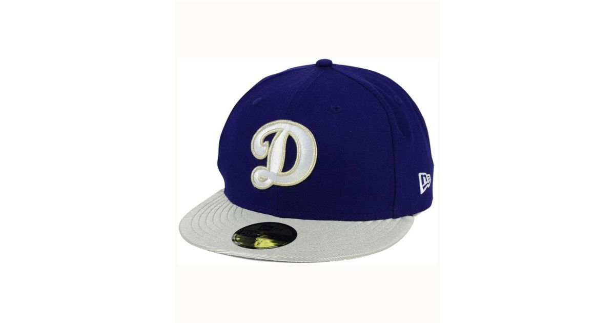 sports shoes a6d7c b147f Lyst - KTZ Los Angeles Dodgers Twist Up 59fifty Cap in Blue for Men