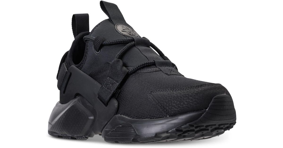 d68611763245a Lyst - Nike Air Huarache City Low Casual Sneakers From Finish Line in Black