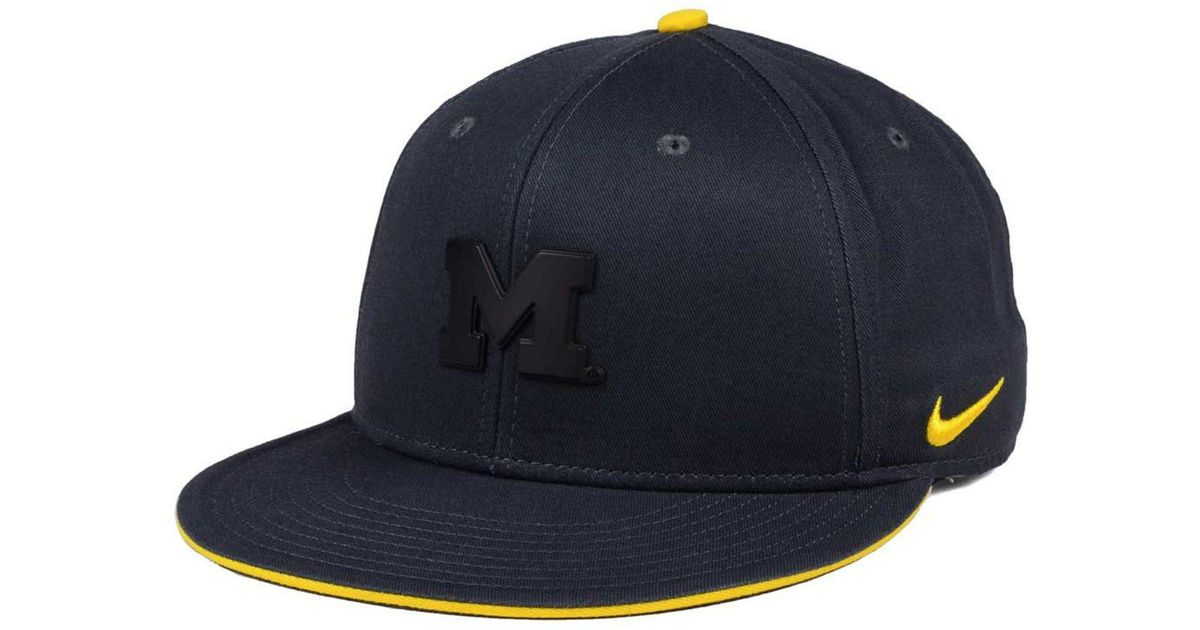 factory authentic 331cc 24a5b Lyst - Nike Col Energy True Snapback Cap in Blue for Men