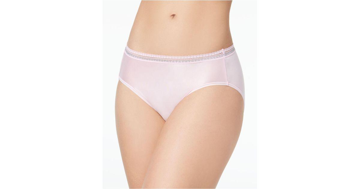 46974d51faa Lyst - Wacoal Perfect Primer Hi Cut Brief 870313 in Pink