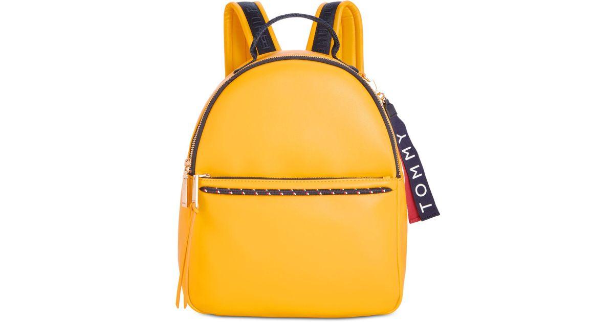 a637f5bfa Tommy Hilfiger Devon Backpack in Yellow - Lyst
