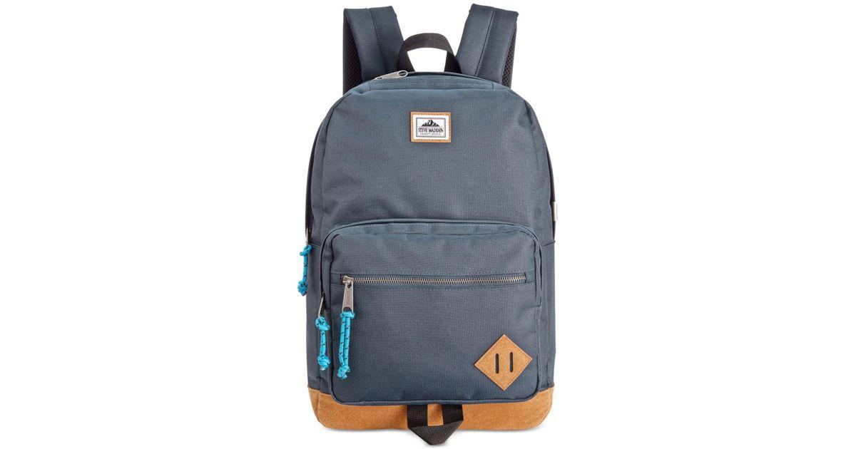 7e2cc4148941 Lyst - Steve Madden Dome Backpack in Blue for Men
