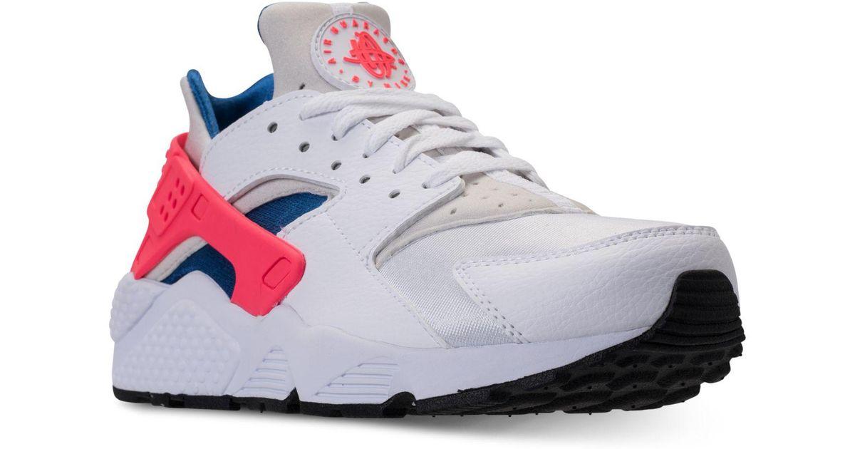 Billiga Nike Air Huarache Blom Vita Trainers – Nike air max