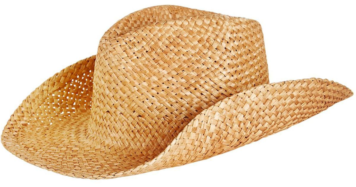 Lyst - Levi s Straw Cowboy Hat in Natural for Men 2497fd74556