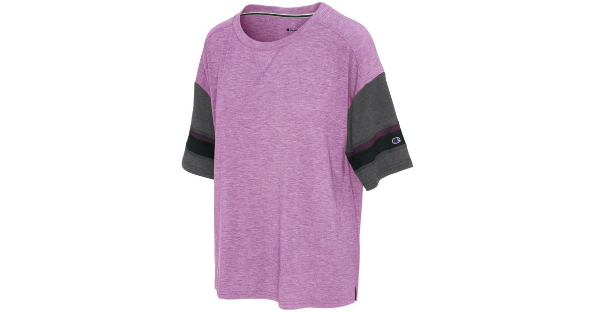 d3671f01d0f Lyst - Champion Gym Issue Football T-shirt in Purple - Save  26.66666666666667%