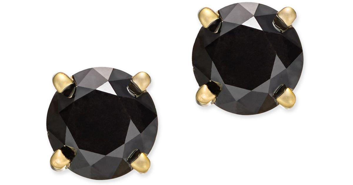 543c6007559 Lyst - Macy s 14k White Gold Earrings