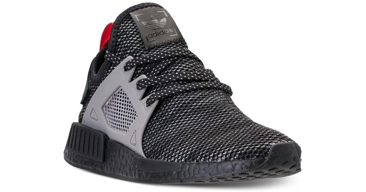 6dc0493f3 Lyst - adidas Men s Nmd Runner Xr1 Casual Sneakers From Finish Line in Black  for Men