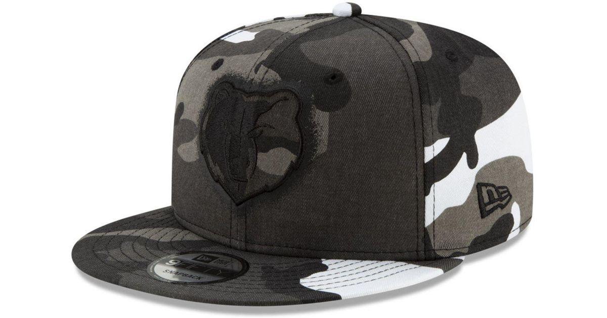 best service 8b20e daf22 ... cheap lyst ktz memphis grizzlies overspray 9fifty snapback cap in gray  for men 052f3 d887d