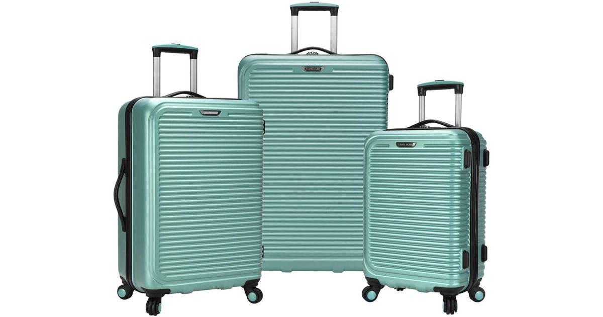 6dd1dd82e0 Lyst - Elite Luggage Travel Select Savannah 3-pc. Hardside Spinner Luggage  Set
