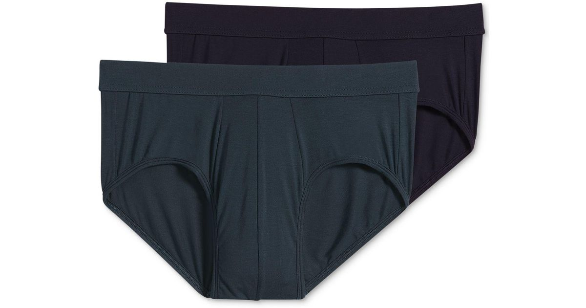 b774c6010c57 Lyst - Jockey 2-pack Essential Fit Supersoft Modal Brief – Created For  Macy's in Blue for Men