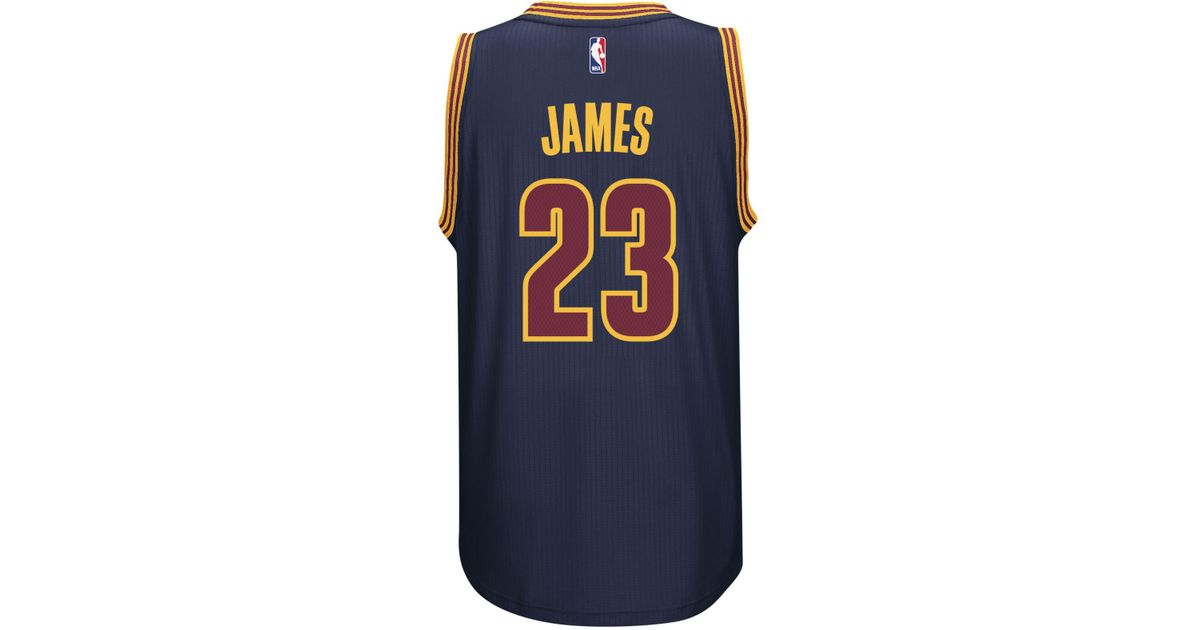 8e20a4a0a42b Lyst - adidas Men s Lebron James Cleveland Cavaliers Swingman Jersey in  Blue for Men