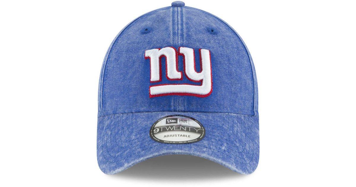 new style ed40a 5727a ... purchase lyst ktz italian wash 9twenty cap in blue for men 27599 03b02
