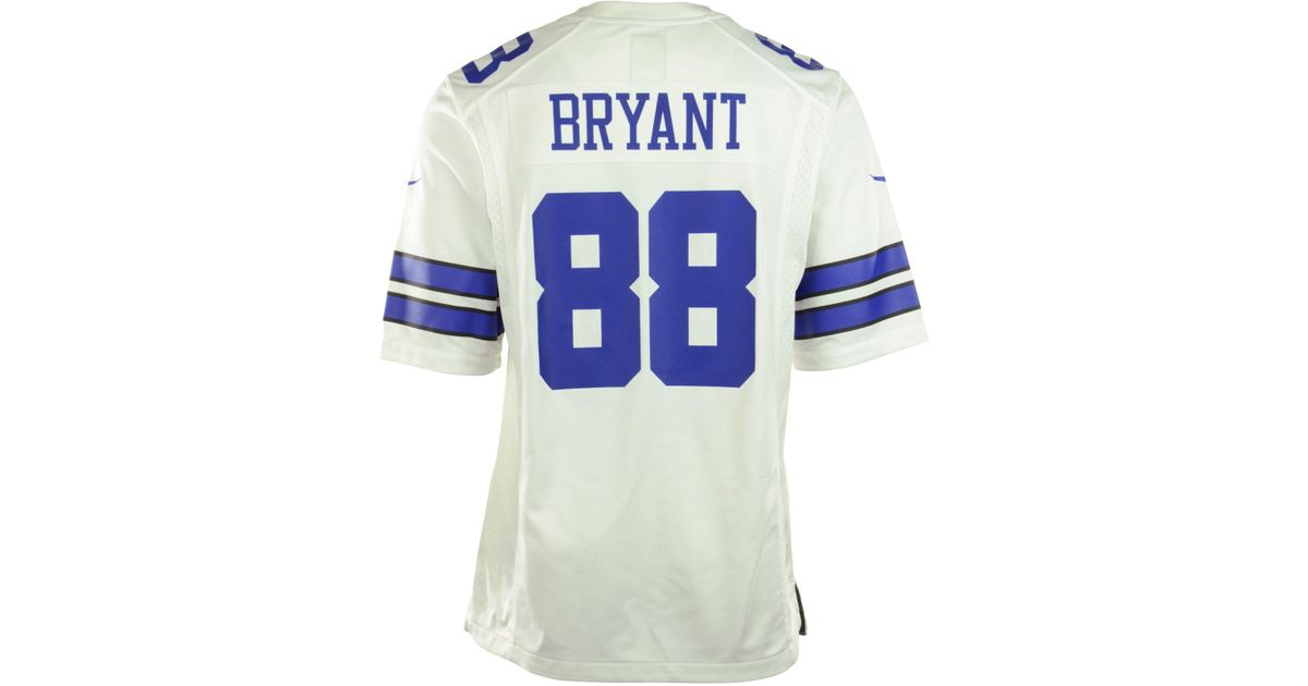Lyst - Nike Men s Dez Bryant Dallas Cowboys Game Jersey in White for Men 97ca2023d