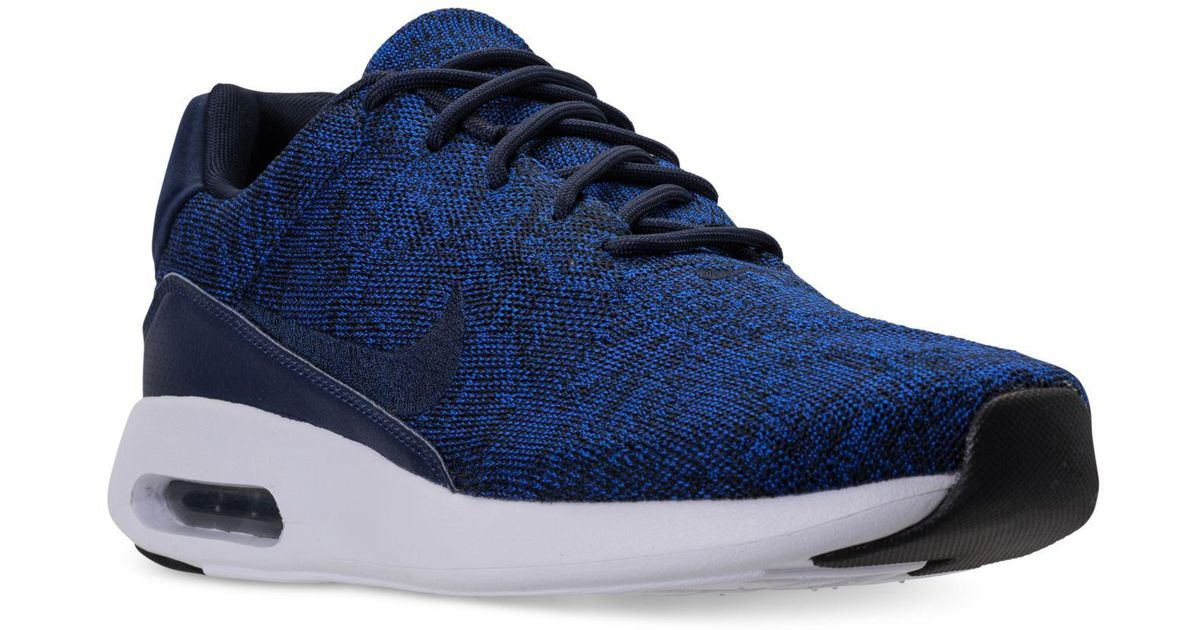 ed19e521ede8 Lyst - Nike Air Max Modern Flyknit Running Sneakers From Finish Line in  Blue for Men