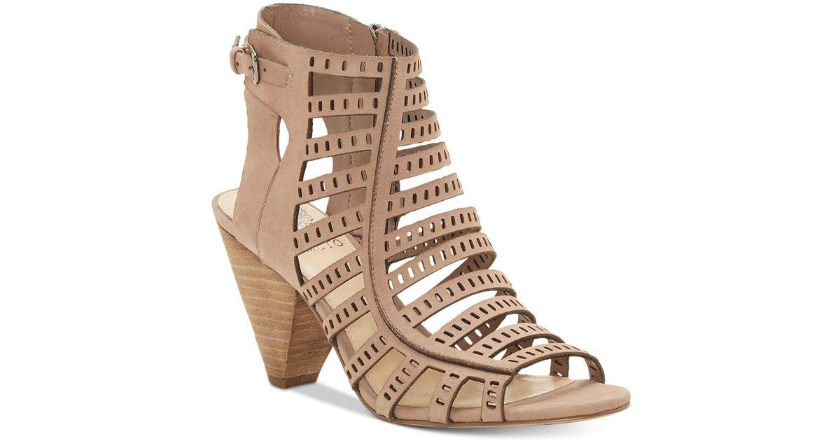 Vince Camuto Elison Cone-Heel Dress Sandals Women's Shoes