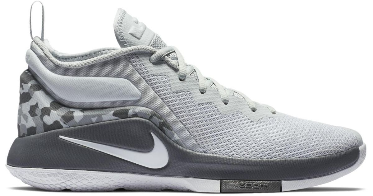 c5f675c3ef52 Lyst - Nike Lebron Witness Ii Basketball Sneakers From Finish Line in Gray  for Men