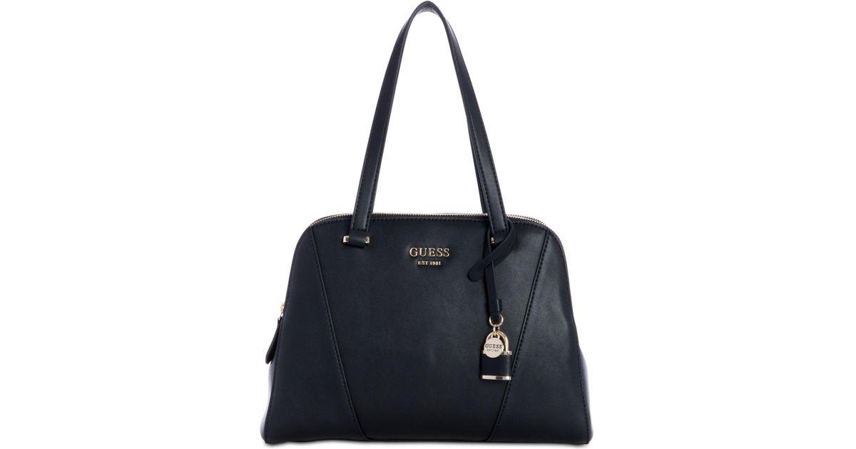 c9783ddecb88 Lyst - Guess Shawna Cali Shoulder Bag in Black