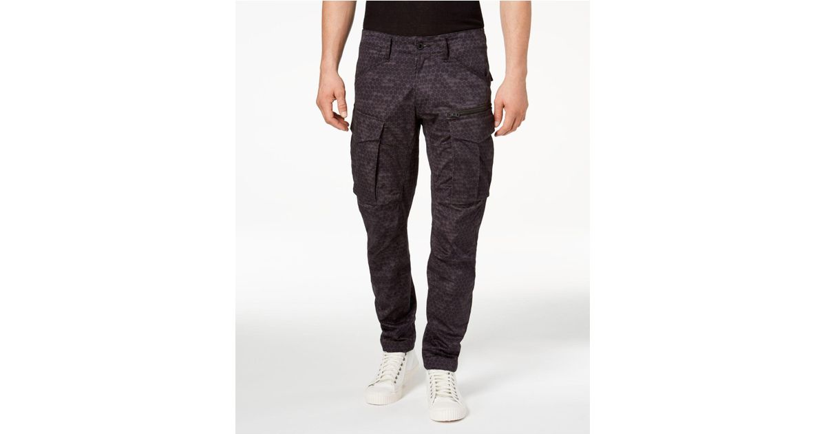2f724fa8e1b Lyst - G-Star Raw Men's Printed Rovic Denim Jeans for Men