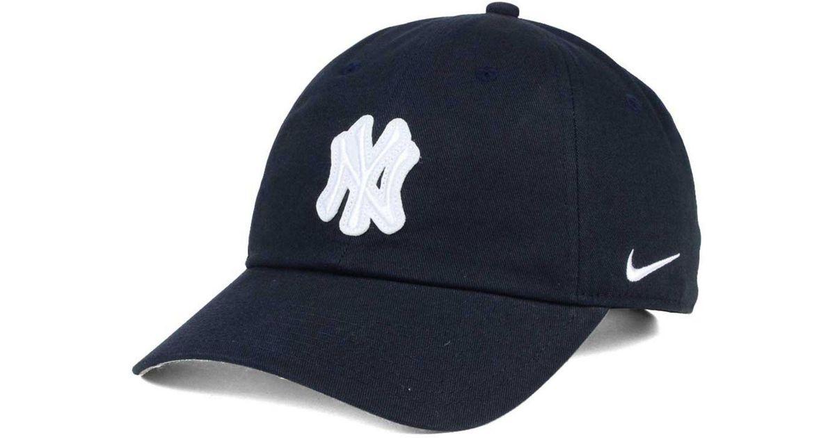 2adb9c1c207c17 cheap new york yankees derek jeter new era number retirement 59fifty f  b2b77 95c1d; coupon code for lyst nike felt heritage 86 cap in blue for men  0b5e0 ...