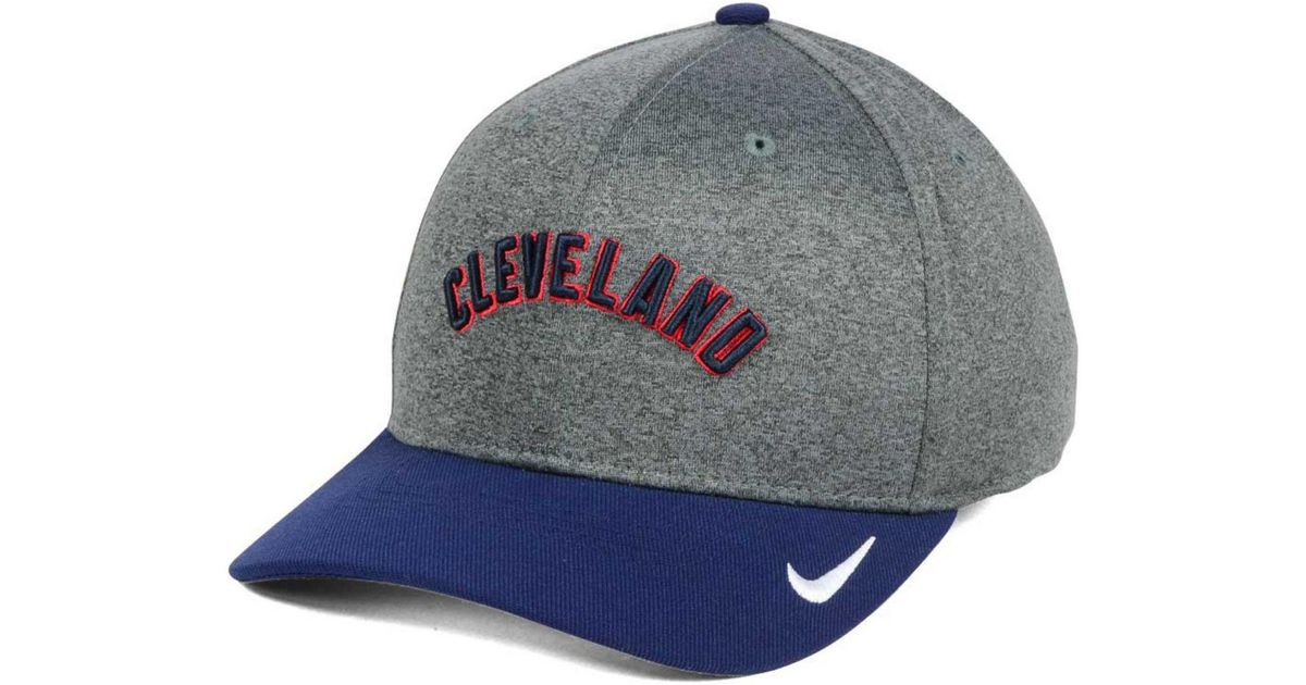 aa6d38a0 store under armour cleveland indians driver cap d069b f749e; sale lyst nike  cleveland indians hight tail 2tone flex cap in gray for men 97076 68ad0