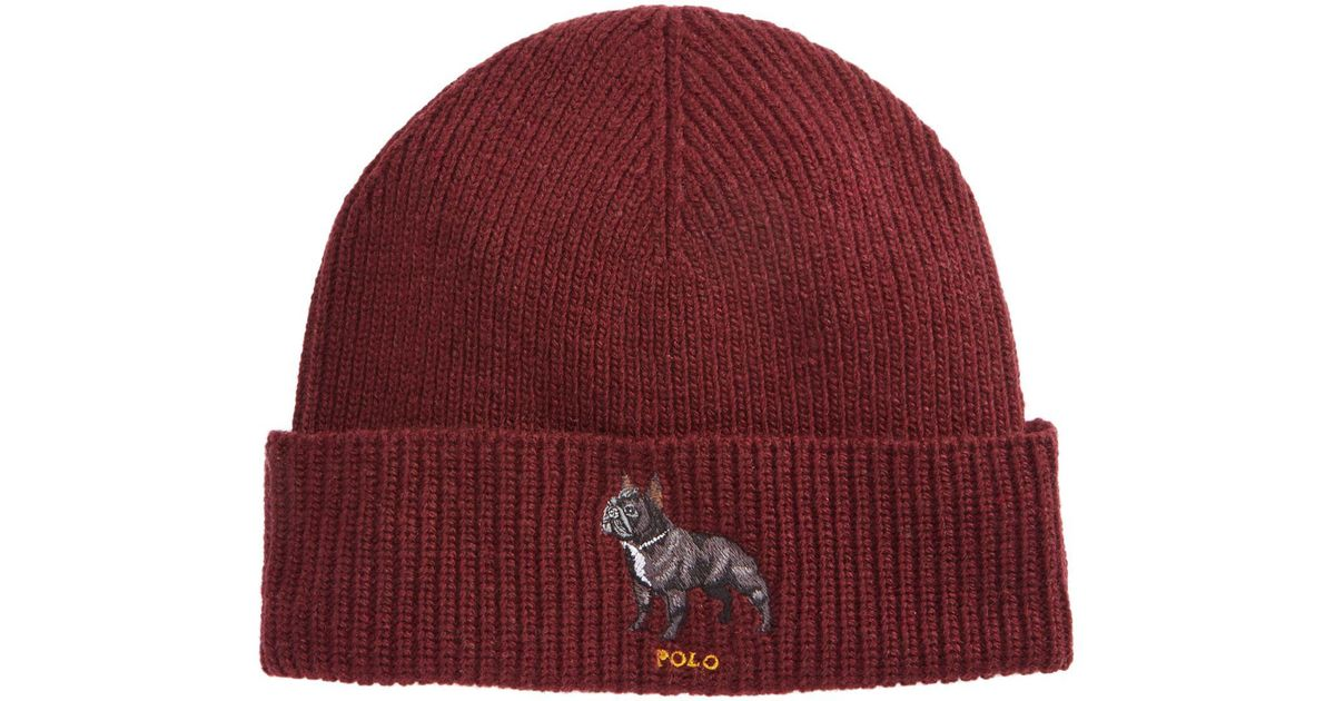 Lyst - Polo Ralph Lauren French Bulldog Hat in Gray for Men d1fa05c4fc28
