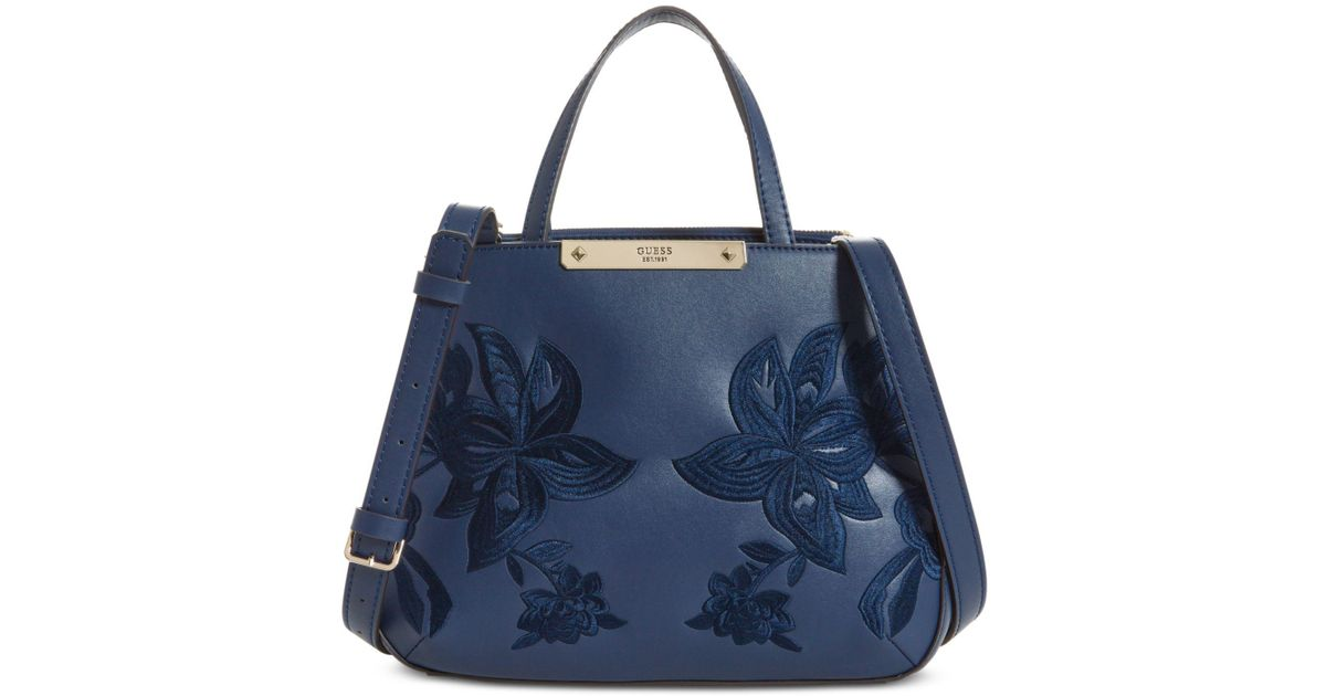 Lyst - Guess Britta Society Small Satchel