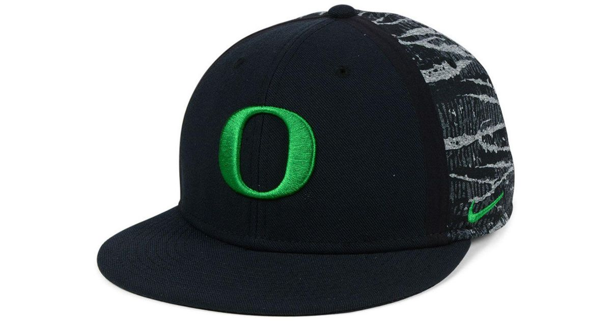 55436679 ... spain lyst nike oregon ducks dna true snapback cap in black for men  ce93f af2bd