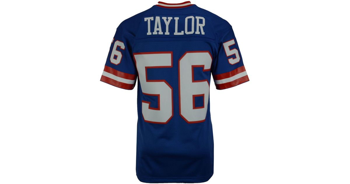 Lyst - Mitchell   Ness Men s Lawrence Taylor New York Giants Replica  Throwback Jersey in Blue for Men 810794aa7