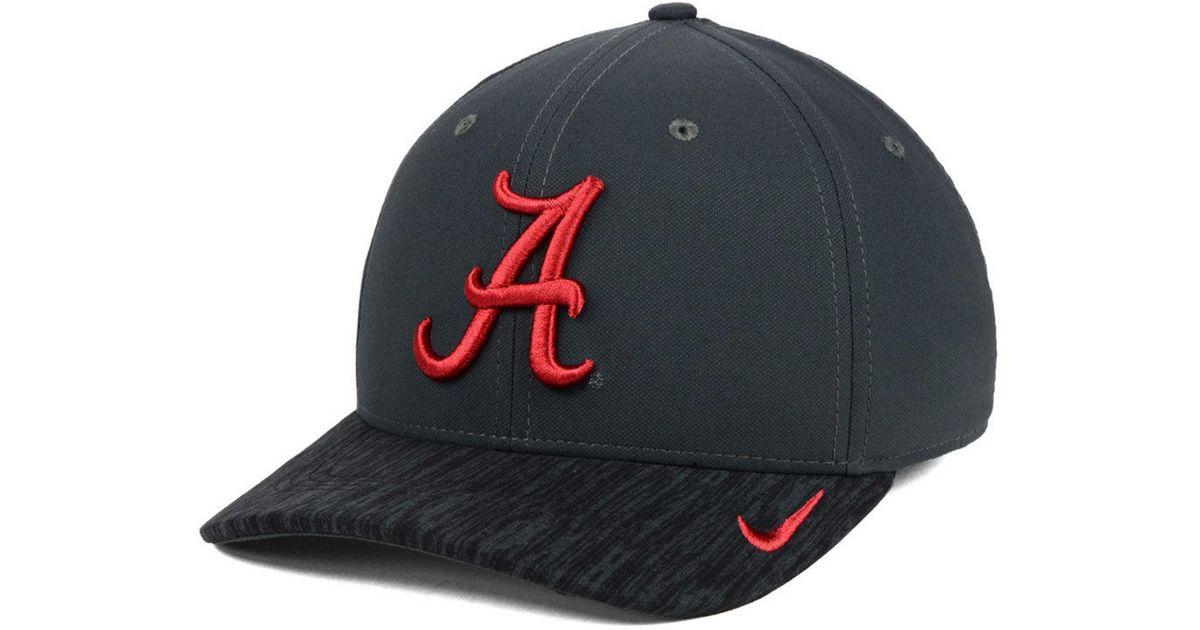 sports shoes 6d647 11175 Nike Alabama Crimson Tide Arobill Swoosh Flex Cap in Blue for Men - Lyst