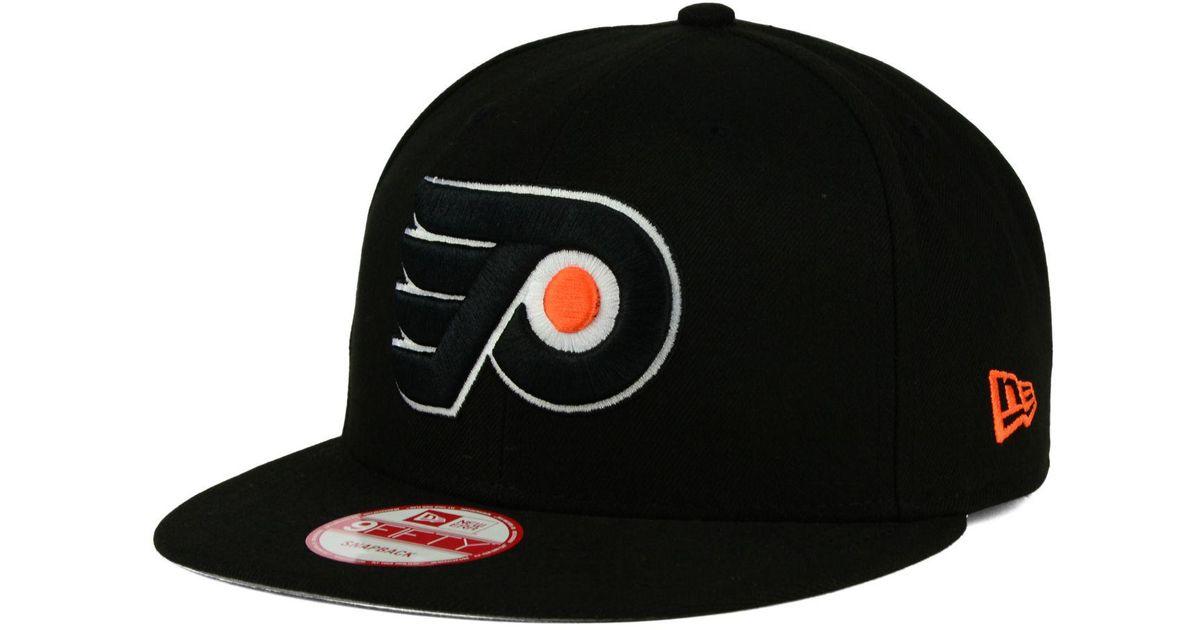 innovative design 10a8b 80ca6 Lyst - KTZ Philadelphia Flyers All Day 9fifty Snapback Cap in Black for Men
