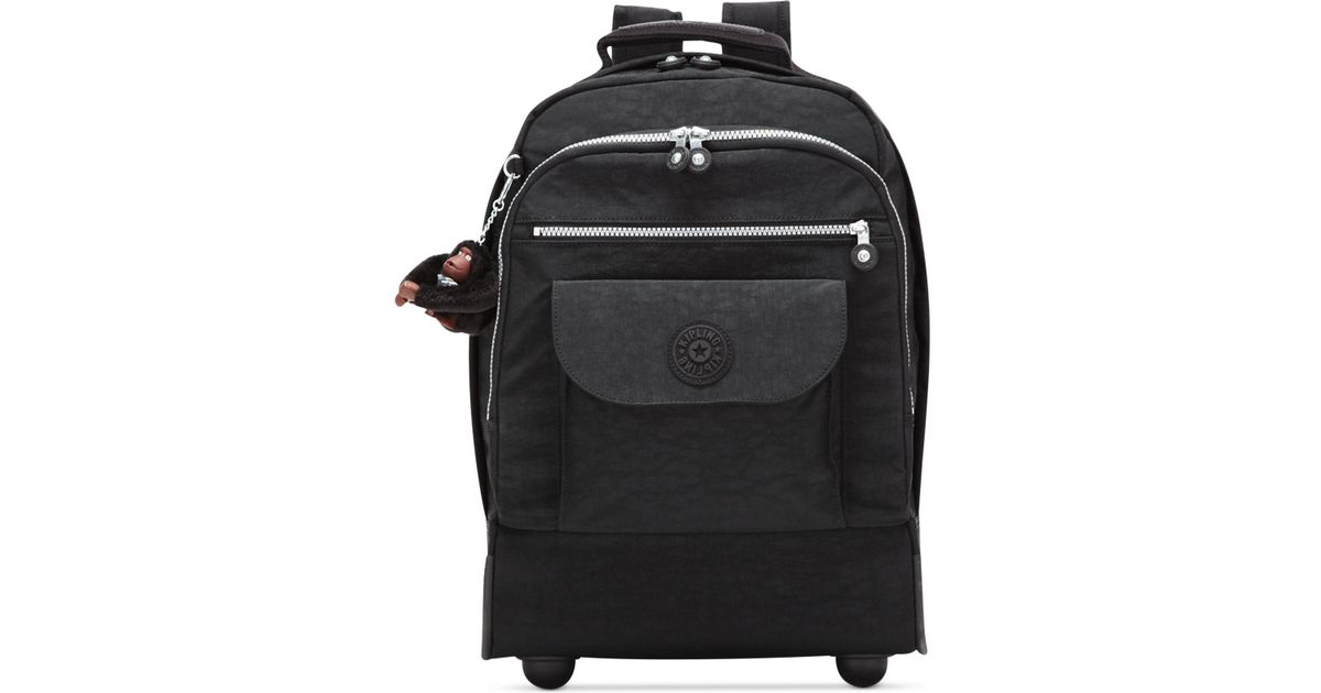 kipling black singles Kipling travel backpacks include front pockets that allow you to easy access travel documents, cell phone, water bottle pockets and a trolley sleeve if you're looking to make a statement, our throwback styles feature the fun, contrasting kipling vintage logo, large iconic zippers and personality to boot.
