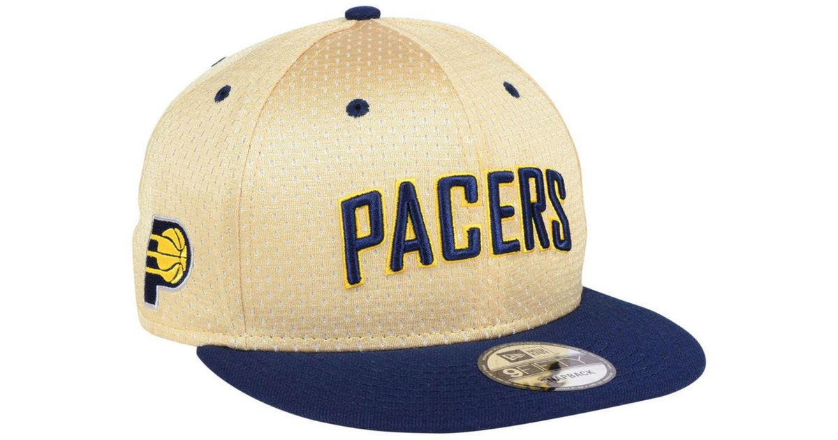new product 35fc3 1165e ... cheap lyst ktz indiana pacers champagne 9fifty snapback cap in blue for  men 26a92 f0324