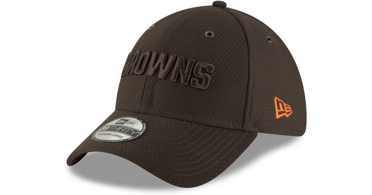 more photos 55104 7d172 KTZ Cleveland Browns Official Color Rush 39thirty Stretch Fitted Cap in  Brown for Men - Lyst
