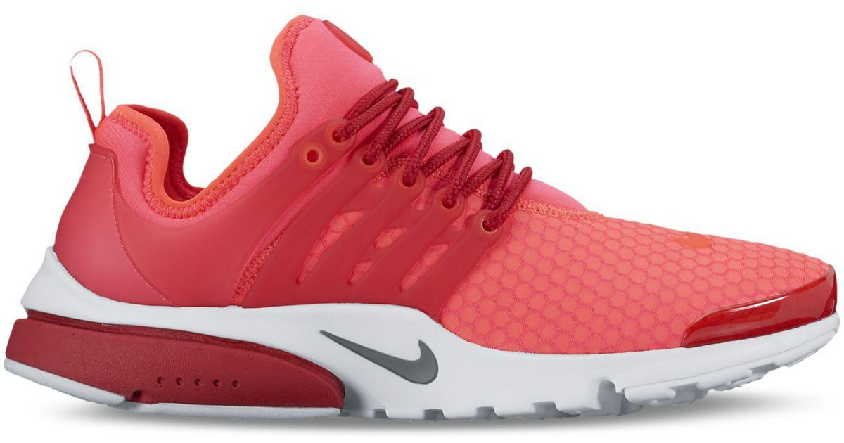 f20faf59d9ba Lyst - Nike Air Presto Ultra Se Running Sneakers From Finish Line in Red  for Men
