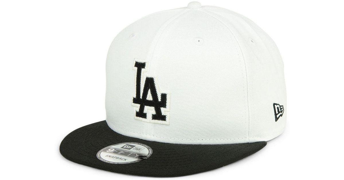 online store 7e123 1b70a ... canada lyst ktz los angeles dodgers jersey hook 9fifty snapback cap for  men 43016 6428c